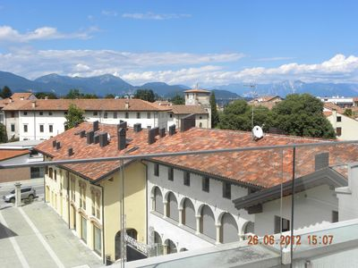 Photo for Spilimbergo - Modern 2 Bedroom Apartment With Rooftop Terrace In Friuli -