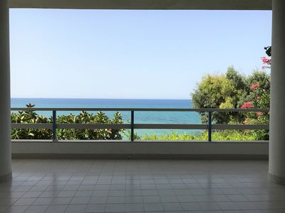 Photo for MareSole, apartment with garden and direct access to the sea