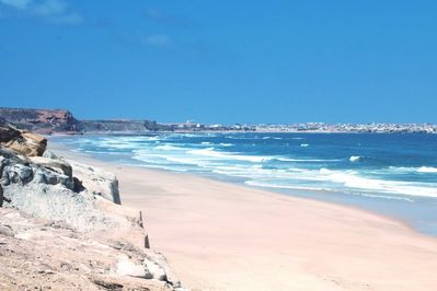 Miles of unspoilt, uncrowded beach