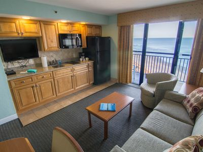 Photo for Beautiful views Beachfront Condo in North Myrtle Beach