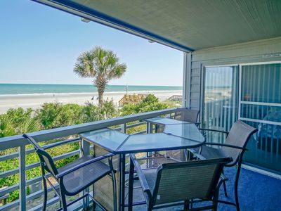Photo for ** ALL-INCLUSIVE RATES ** Surf Harbor 104 - Oceanfront & Recently Renovated