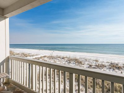 Photo for Seacret Paradise! GULF FRONT 2 Bedroom Condo w/ Community Pool