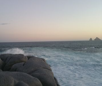 Photo for MARAZUL - misiones del cabo - Amazing view -   Beach apartment- Surf snorkeling