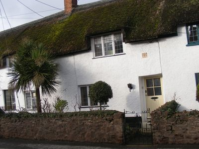 Photo for Unique, pet friendly thatched cottage, over 400 years old, Grade II listed