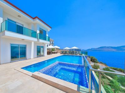 Photo for Contemporary Villa With Stunning Sea Views and Large Sun Terrace