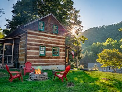 """Photo for Looking for a """"real mountain cabin experience"""" come relax at Elk Ridge Cabin!"""