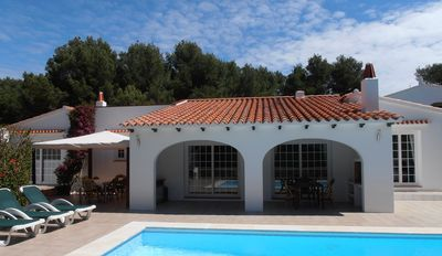 Photo for CHARMING VILLA, GOLF AND BEACH ON THE NORTH COAST OF MINORCA.