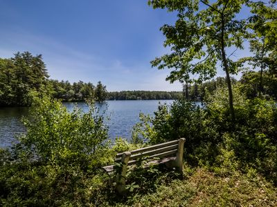 Photo for Wolfeboro Waterfront Cottage/Crescent and Wentworth Lake
