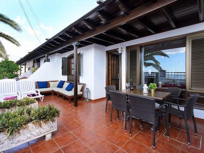 Photo for Beautiful Holiday Home Salitre Close to the Beach with Wi-Fi, Balcony & Terrace