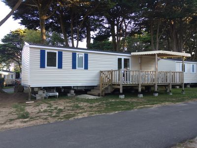 "Photo for ""Zen, let's be Zen"" - Mobilhome 4p at the campsite Conguel **** in Quiberon"