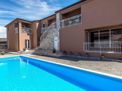 Photo for Apartment Complex Valtrazza with Common Pool / Apartment Noa III in Villa Valtrazza with Balcony and Pool View
