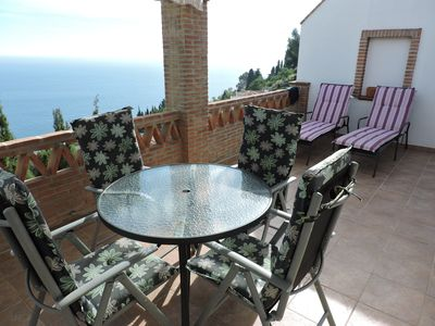 Photo for Exclusive, new holiday home with an enchanting view of the sea and the mountains