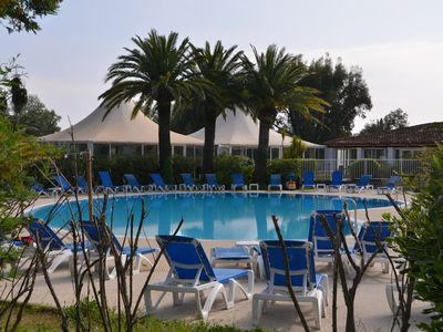 Photo for APARTMENT T1 MEZZA IN RESIDENCE STONE AND VACATION PARKS OF GRIMAUD