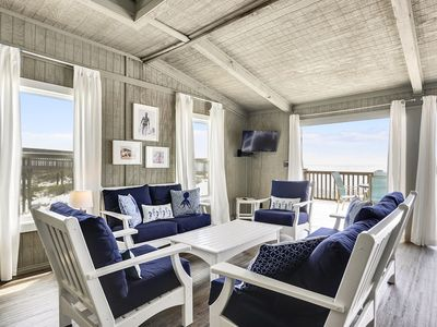 Photo for Beachfront Paradise | Relaxing Privacy on Sugar White Sands | My Beach Getaways