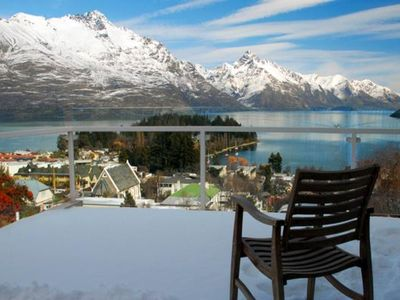 Photo for Magnificent mountain and lake view villa