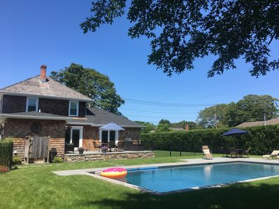 Photo for Southampton Village Newly Renovated and Landscaped Sun-Filled Home, Gunite Pool