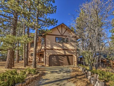 Photo for The Nut House: Four Seasons Classic Moonridge Cabin Located on a Large Lot Close to Hiking Trails!