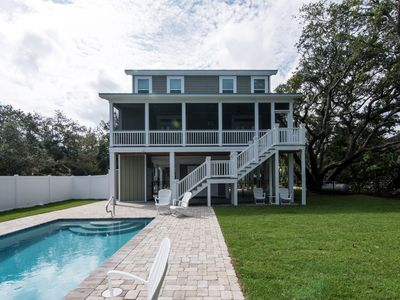 Photo for Tons of Fun - Newly Constructed Home w/ Private Pool & Easy Beach Access