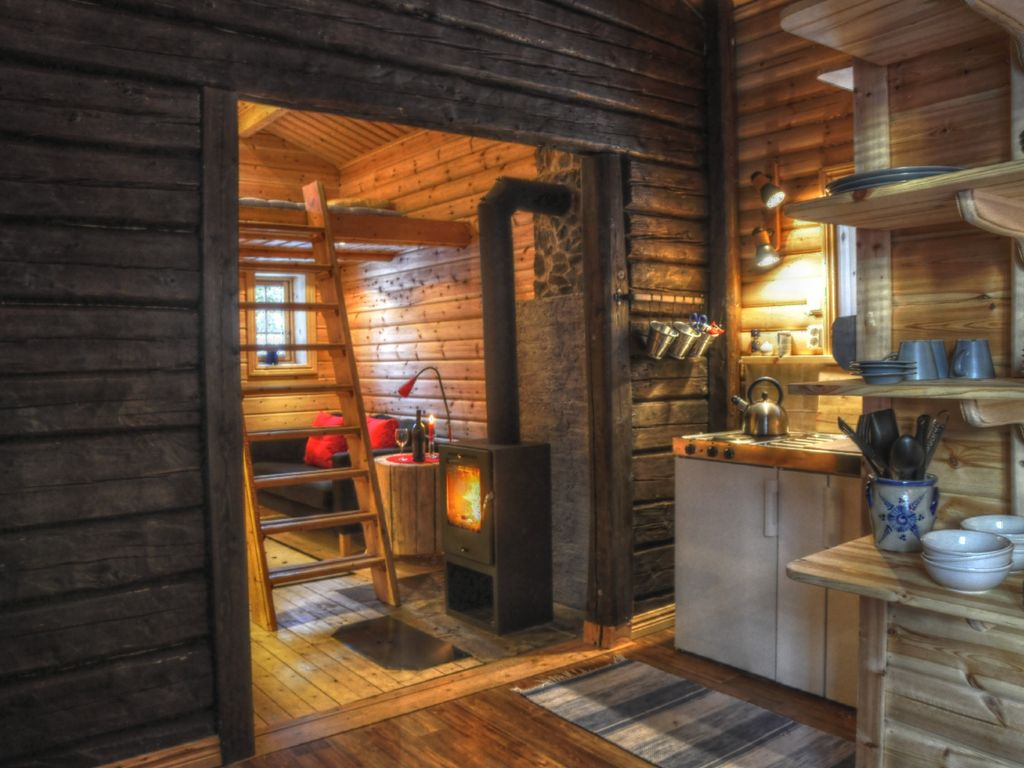 Rustic Cottage In The Woods Of Lapland