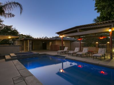 Photo for CLOSEST home to Coachella 4 Bedroom 2 bath sleeps14 Pool/Spa, Pool table, BBQ