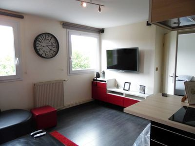 Photo for 1BR Apartment Vacation Rental in Rouen