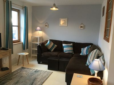 Photo for New:Cosy Seaside 2 bed Apt Center Moville, Close beach High speed WiFi, Netflix