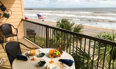 Photo for 180-Degree Gulf Views, Front Row, Large Balcony