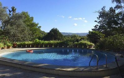 """Photo for Magnificent Villa """"Can Vicent Masia"""" with Pool, Mountain View, Wi-Fi, Balcony, Terrace & Garden; Parking Available"""