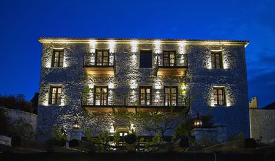 Photo for FAIRY TAILE LUXURY STONE VILLA 50min FROM  NAFPLIO - TRIPLE ROOM - PET FRIENDLY