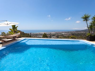 Photo for MIRADOR - EXCLUSIVITY and CALM - House in Cabrils with spectacular views - so close to Barcelona