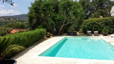 Photo for Villa Sainte Maxime ground floor with private pool and jacuzzi