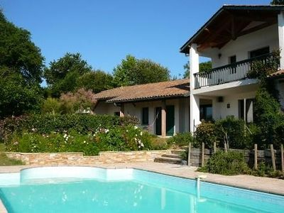Photo for Basque Villa 200m², near the center of Bassussarry (near Biarritz)