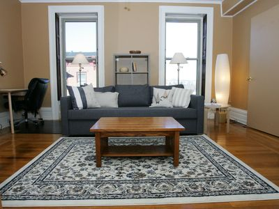 Photo for Bright and Cozy One-Bedroom, Quiet Neighborhood Downtown - Extended Stay