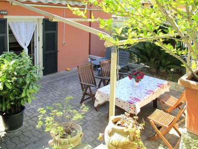 Photo for Oneglia Apartment, Sleeps 4 with Air Con and Free WiFi