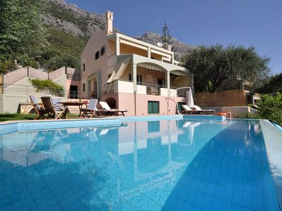 Photo for Sea-Side Vacation Villa With Private Pool and BBQ