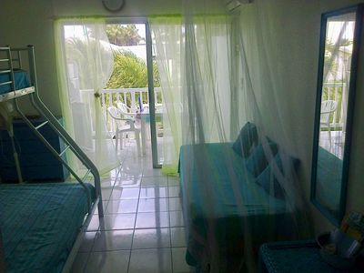 Photo for Nice Studio ideally located in the Marina Saint Francois
