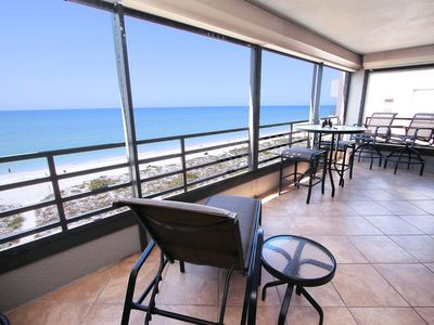 Photo for Gulf Front Penthouse Condo, Direct Gulf View, Large Balcony, Spectacular Sunsets