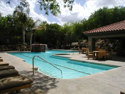 heated pool and spa great for relaxing