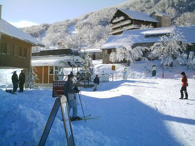 Photo for Apartment rousset collar small resort situated in the heart of Vercors