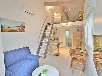Photo for To rent Studio mezzanine sleeps 4 to 200m beaches
