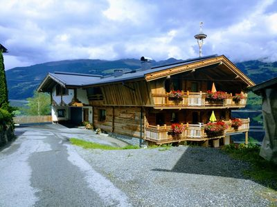 Photo for Holiday apartment in a farm on the mountain