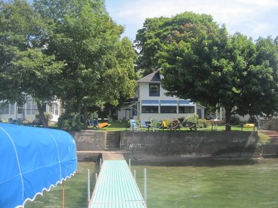 Photo for Lakefront Cottage close to CMAC