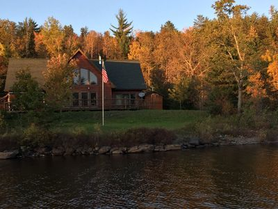Photo for Gorgeous waterfront home on Dead River Basin