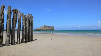 Photo for Appt extraordinary sea view on the bay of Saint-Malo - 135m2 - 3 nights min