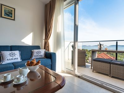 Photo for Maris Croatica Suite - Amazing sea view from your balcony. Opened all year long.
