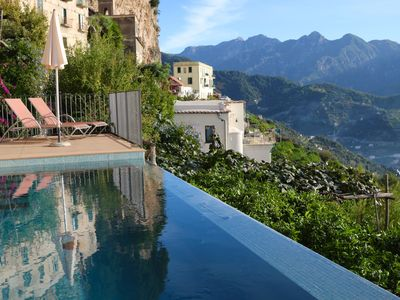Photo for Villa San Cosma Ravello with sea views, swimming pool, teuco bath and full breakfast