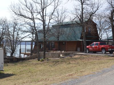 Lakefront! -True Lakefront  Cabin with Private Dock