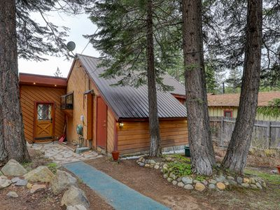 Photo for NEW LISTING! Family home w/ private hot tub & lake view deck - walk to lake!