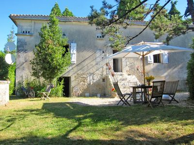 Photo for 300 year old country home, completely renovated with 7000 m² park and large pool