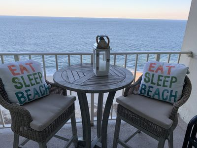Photo for Just renovated beautiful direct oceanfront condo, 3 bed/2 bath North OC MD